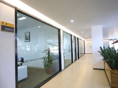 葆德工厂 办公室走廊之一