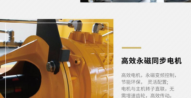 葆德BD-GSAV水润滑无油螺杆机