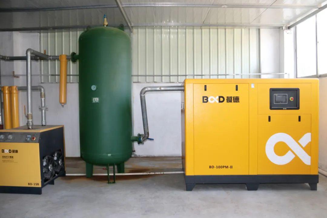 新开工厂如何购买空压机?这家企业以节能数据告诉你答案!