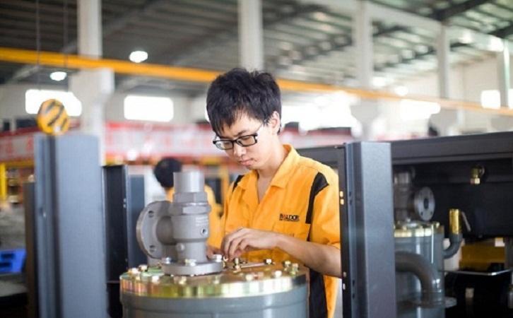螺杆式空压机润滑油系统以及冷却系统介绍