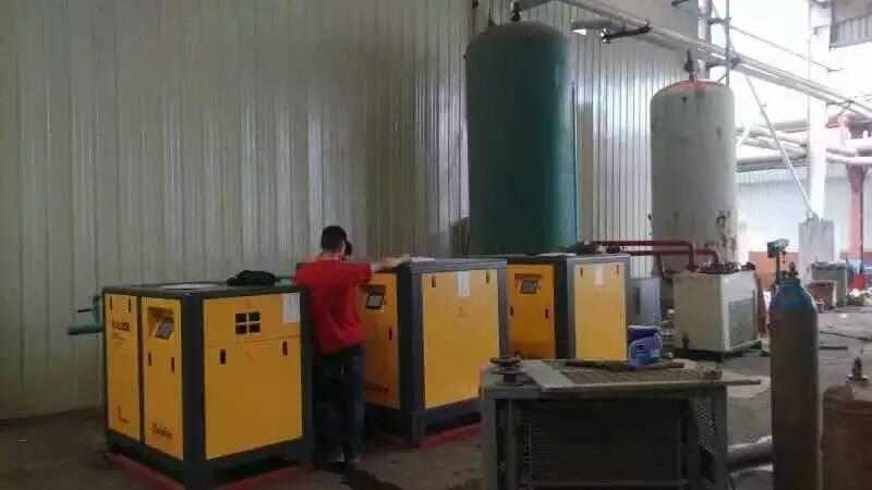 螺杆空压机排气温度高怎么办?